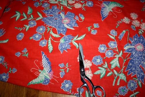 New Dress A Day - DIY - Vintage Muumuu - Length Trim - 54