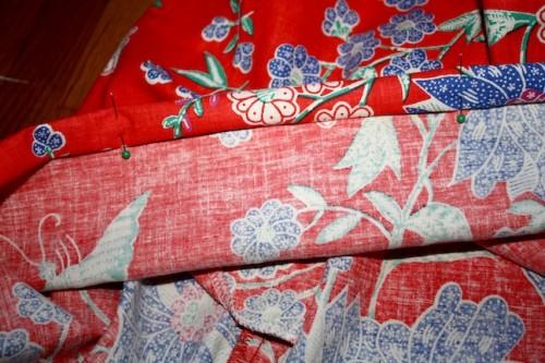 New Dress A Day - DIY - Vintage Muumuu - Pinned Hem - 54