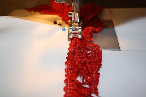 New Dress A Day - DIY - Vintage Muumuu - Sewing Fringe Time - 53