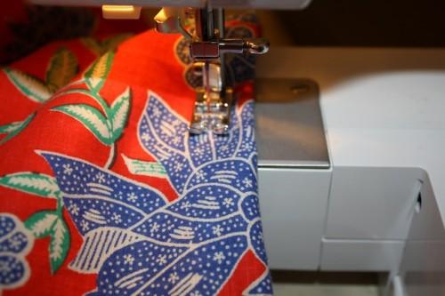 New Dress A Day - DIY - Vintage Muumuu - Sewing Machine - 54