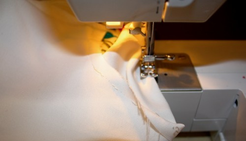 New Dress A Day - DIY - Vintage Muumuu - Sleeve Stitching - 53