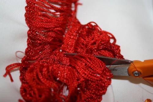 New Dress A Day - DIY - Vintage Muumuu - Trim Trim - 53