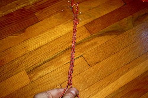 New Dress a Day - DIY - Vintage Dress - Friendship Bracelet - 75
