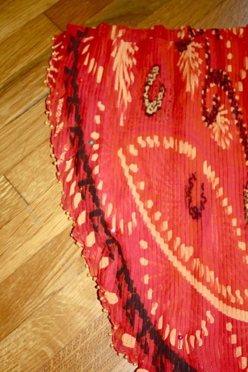 New Dress a Day - DIY - Vintage Dress - Pinned Edges - 75