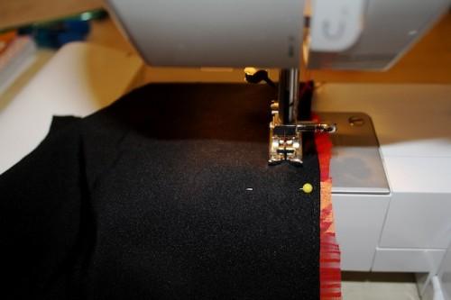 New Dress a Day - DIY - Vintage Dress - Sewing Machine - 75