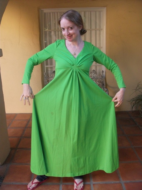 New Dress A Day - DIY - Lime Green