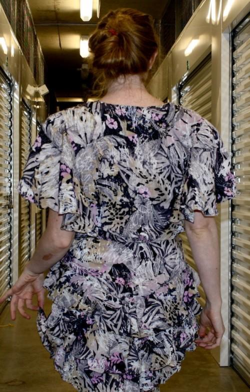 New Dress A Day - DIY - Vintage Dress - Back - 35