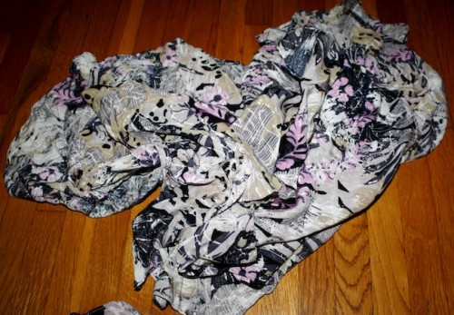 New Dress A Day - DIY - Vintage Dress - Skirt Scraps - 35