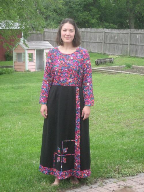 New Dress A Day - DIY - Vintage Dress - Suzanne