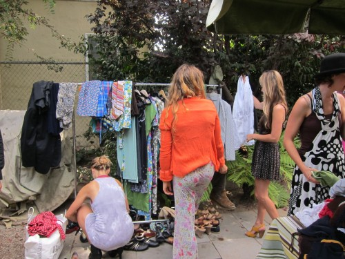 New Dress A Day - DIY - Swap Party - Garment Racks O'Fun