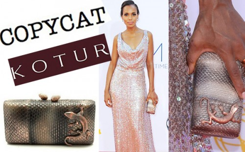 New Dress A Day - DIY - Kerry Washington's 2012 Emmy Look - Copycat