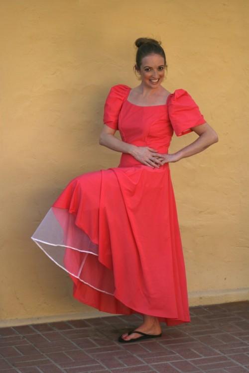 New Dress A Day - DIY - Vintage Bridesmaid Dress - Before - 44
