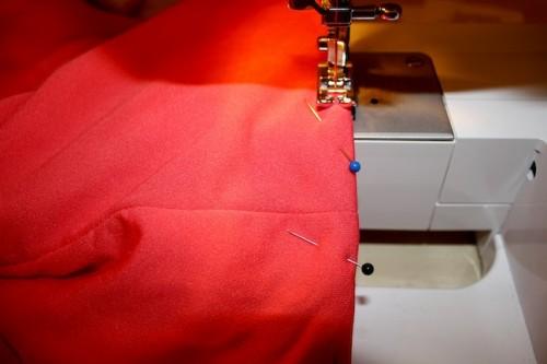 New Dress A Day - DIY - Vintage Bridesmaid Dress - Sewing Machine - 44