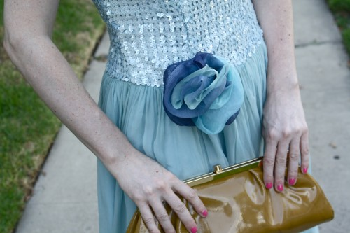 New Dress A Day - DIY - Vintage Party Dress - Flower ECU - 45