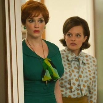 New Dress A Day - DIY Halloween Costumes- Joan Holloway - Mad Men Costume