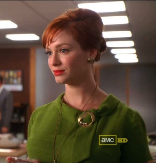 New Dress A Day - DIY Halloween Costumes- Joan Holloway - Mad Men Costume - 60s Green Dress