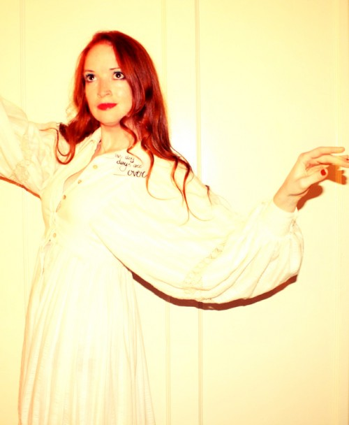 New Dress A Day - DIY Halloween - Florence Welch - Vintage Dress