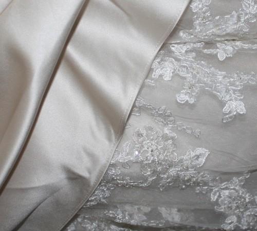 New Dress A Day - DIY - Wedding Veil - Rachel's Dress Material
