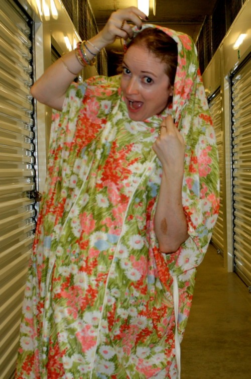 New Dress A Day - DIY - Muumuu - Hoodie too?