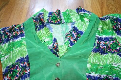 New Dress A Day - DIY - Vintage Dress - New Neckline