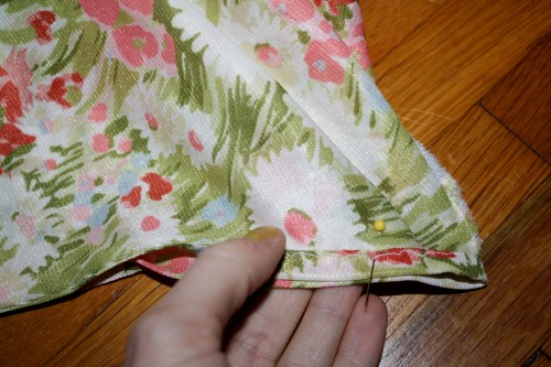 New Dress A Day - DIY - muumuu - Close Up Shop