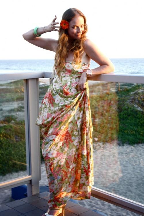 New Dress A Day - DIY - Vintage Dress - Wedding Dress