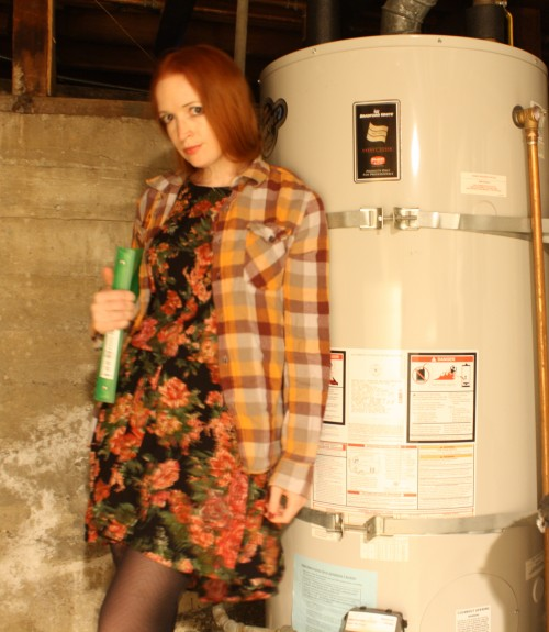 New Dress A Day - DIY - Halloween Costumes - Angela Chase - Waiting in the Boiler Room