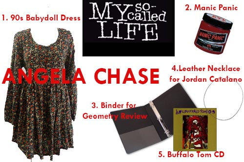 New Dress A Day - DIY - My So Called Life - Angela Chase Costume