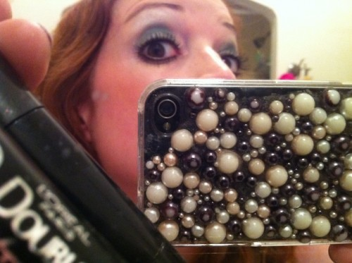 New Dress A Day - DIY Halloween - Florence Welch - Lashes!