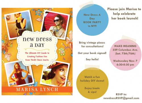 Book Launch - NY - New Dress A Day