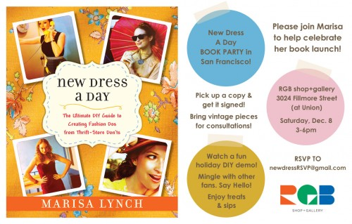 New Dress A Day - Book Launch - SF