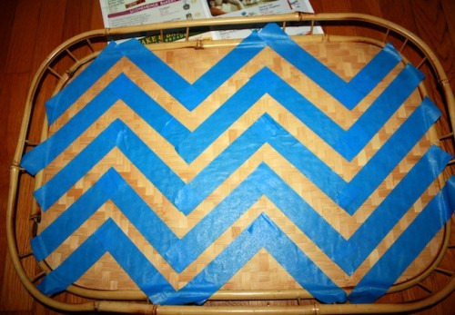 New Dress A Day - DIY - Bamboo Tray
