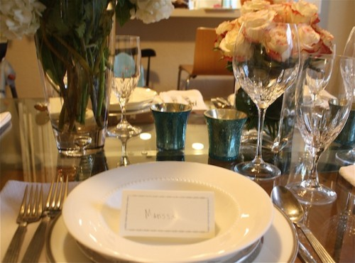 New Dress A Day - DIY - Place Setting!
