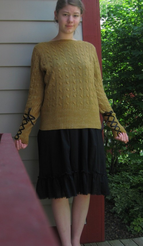 New Dress A Day - Christina's After Sweater