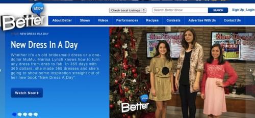 New Dress A Day - Better TV Segment
