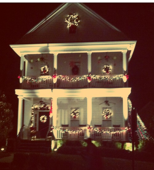 New Dress A Day - DIY - Christmas Lights - McAdenville, NC