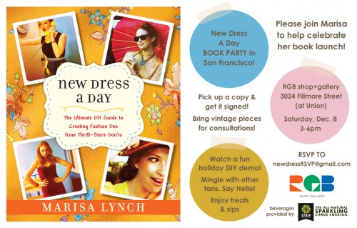 New Dress A Day - Book Launch - San Francisco