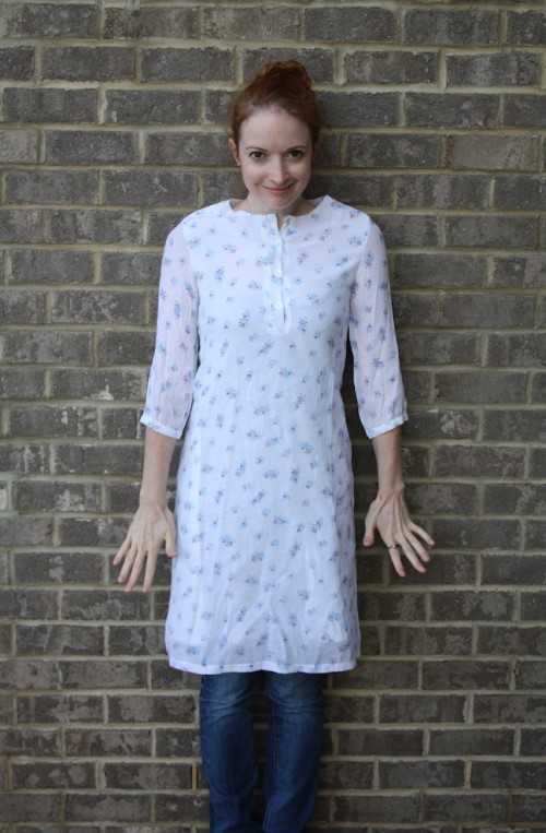 New Dress A Day - Upcycled Wardrobe - Vintage Dress - DIY