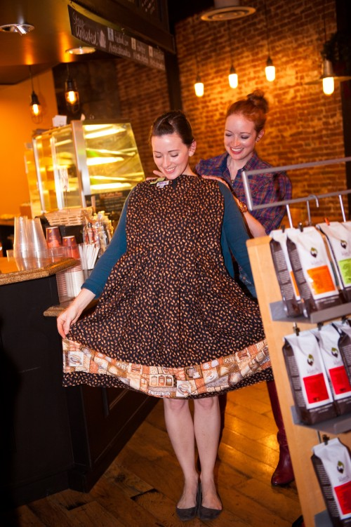 New Dress A Day - DIY - Kettle Coffee and Tea-68 - Coffee Bean Dress