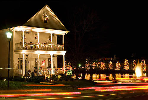 New Dress A Day - Holiday Lights - McAdenville
