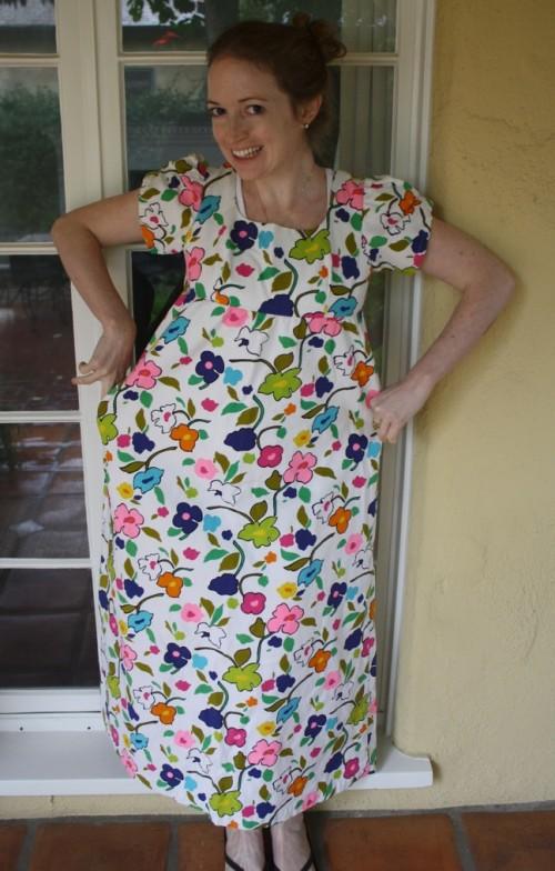New-Dress-A-Day-1-Remake-Vintage-Dress-500x784
