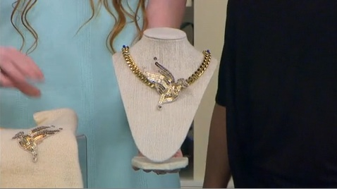New Dress A Day - Statement Necklace - DIY