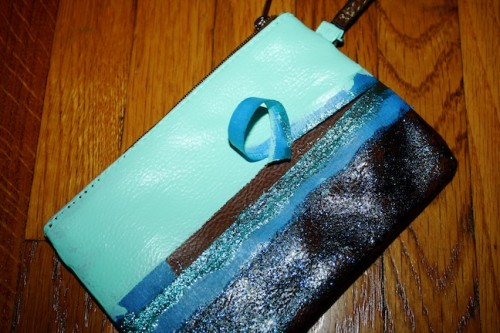New Dress A Day - DIY - Accessory - Wristlet