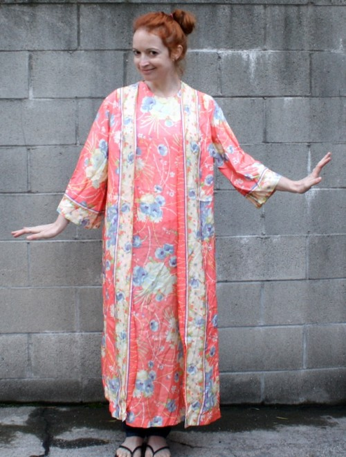 New Dress A Day - DIY - Easter Dress - Vintage Muumuu