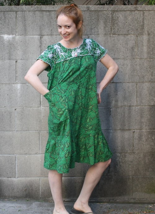 New Dress A Day - VIntage Muumuu - DIY - Goodwill
