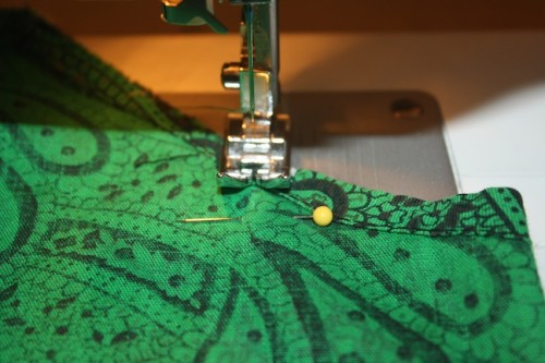 New Dress A Day - VIntage Muumuu - DIY - Goodwill - Sewing Machine