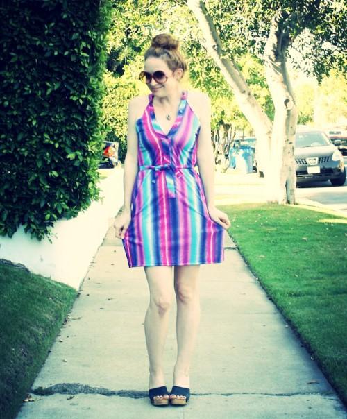 New Dress A Day - DIY - Vintage Dress - New Sundress