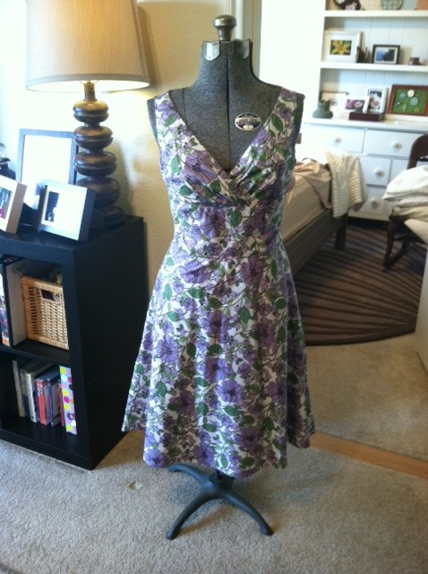 New Dress A Day - Goodwill - Caseys-Loft-Dress-Pre-Cut