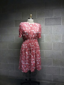 New Dress A Day - DIY - Vintage Floral Dress