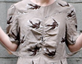 New Dress A Day - DIY - Bird Print ASOS Dress